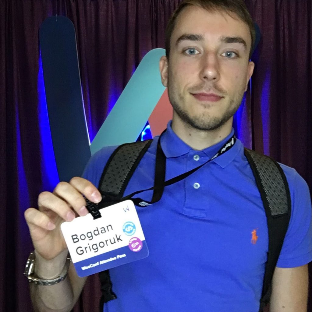 BogdanFix at WooConf WooCommerce Conference 2017