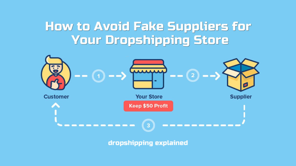 How to Avoid Fake Suppliers for Your Dropshipping Store
