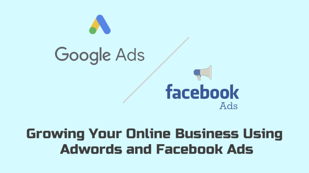 Growing Your Online Business Using Google Ads and Facebook Ads