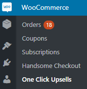 Menu WooCommerce Upsells Quick Start Guide