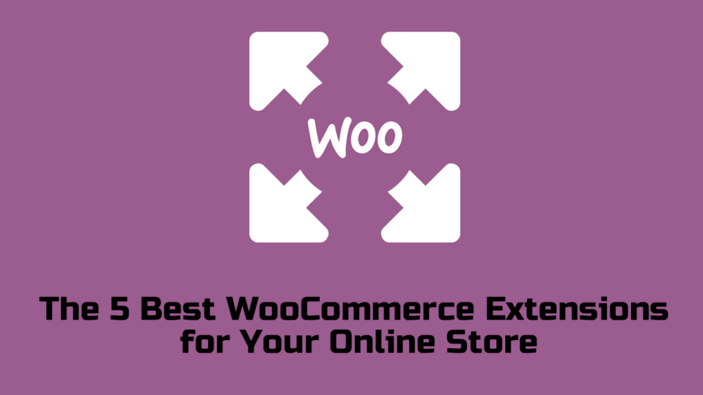 The 5 Best WooCommerce Extensions  for Your Online Store