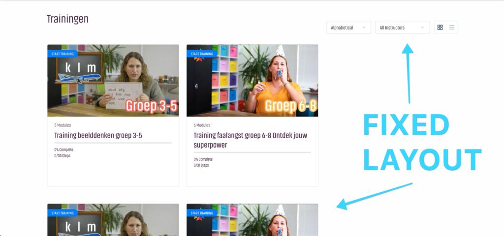 Fix LearnDash Course Grid layout page
